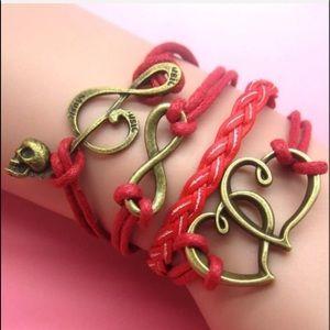 Infinity Music Love Bracelet